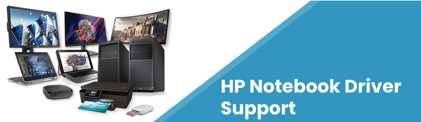 hp notebook driver support