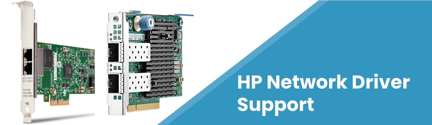 hp network driver support