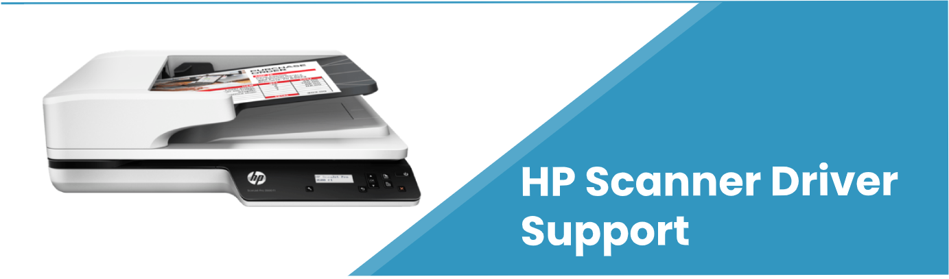 hp scanner driver support