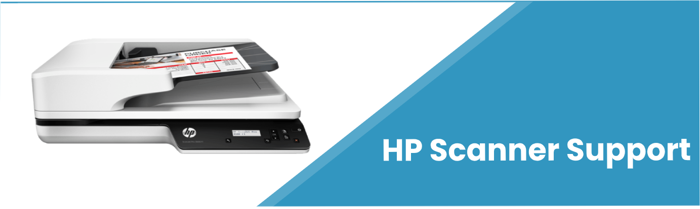 Hp scanner support